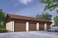 GMC25 Budynek garażowo-magazynowy