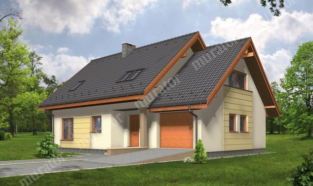 Projekt domu:  Murator C211   – Wygodny