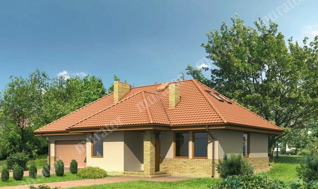 Projekt domu:  Murator M05a   – Niewielki - wariant I