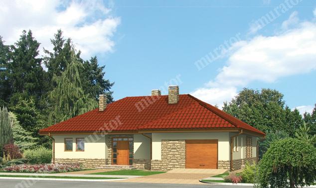 Projekt domu:  Murator M36   – Spokojna przystań