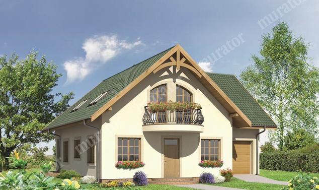 Projekt domu:  Murator M81   – Babie lato